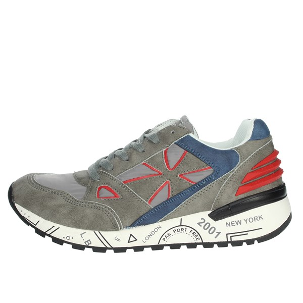 Laura Biagiotti Shoes Sneakers Grey/Blue 3041