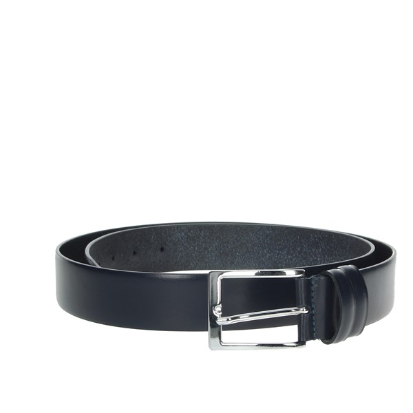 Made In Italy Accessories Belt Blue 06
