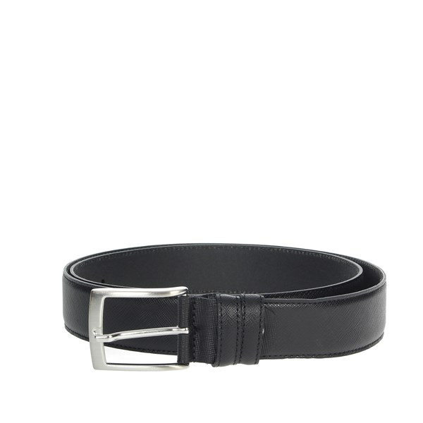 Made In Italy Accessories Belt Black 04