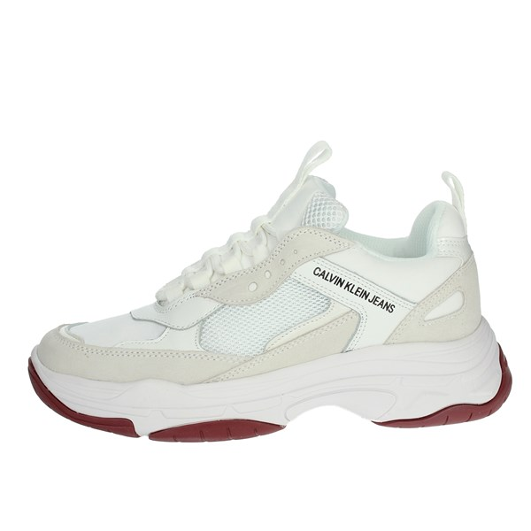 Calvin Klein Jeans Scarpe Donna Sneakers BIANCO R0802