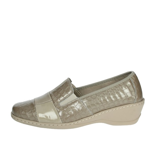 Notton Shoes Moccasin Beige 2298