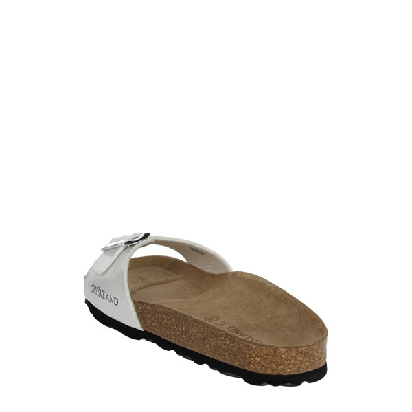 Grunland Shoes slippers White CB0029-70