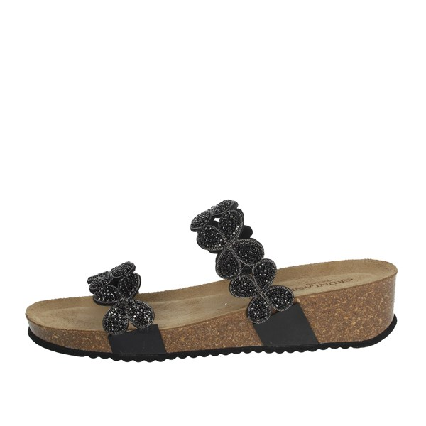 Grunland Shoes slippers Black CB1602-70