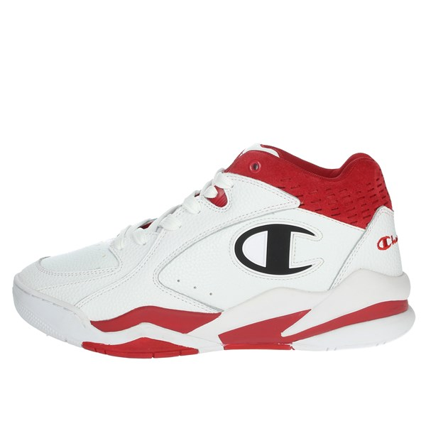 Champion Shoes Sneakers White/Red S20903-S19