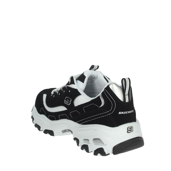 <Skechers Shoes Sneakers Black/White 52675/BKW