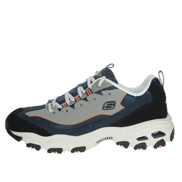 Skechers Shoes Sneakers Blue/Grey 52675/NVOR