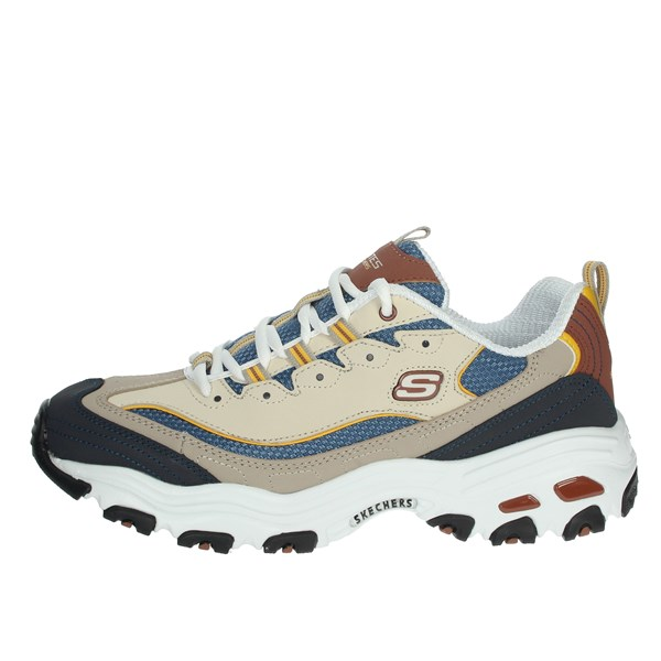 Skechers Shoes Sneakers Beige/Blue 52675/BRTN