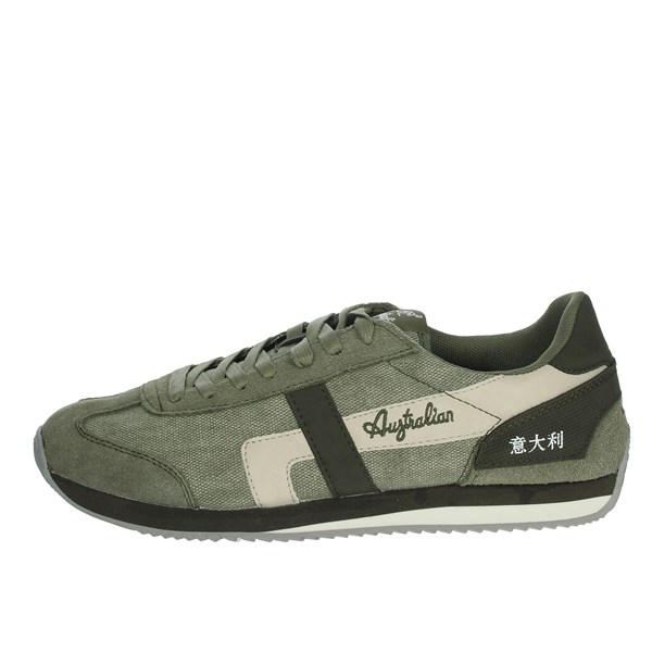 Australian Shoes Sneakers Dark Green AU635