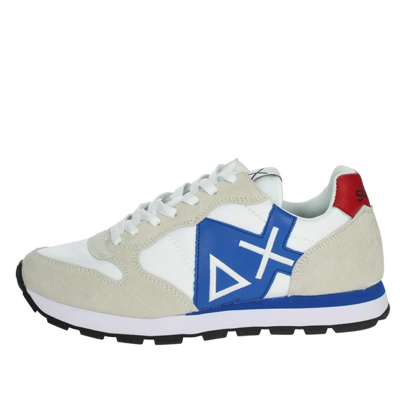 Sun68 Shoes Sneakers White/Blue Z19103