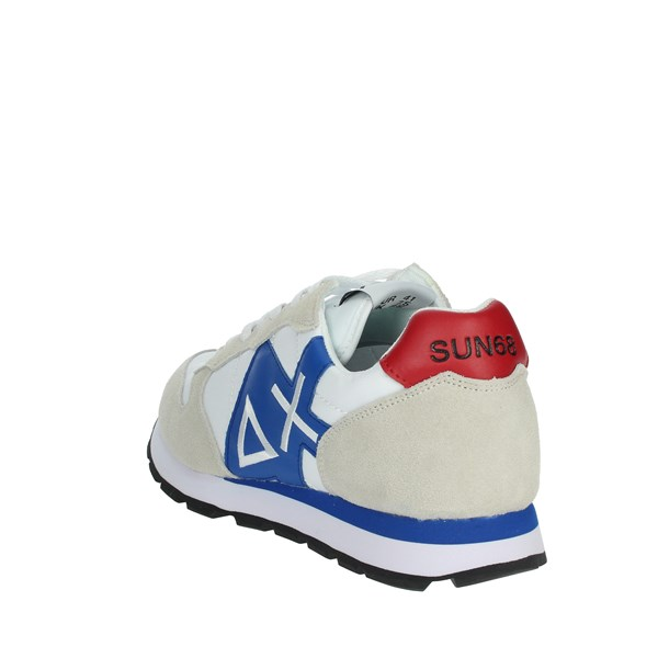 <Sun68 Shoes Sneakers White/Blue Z19103