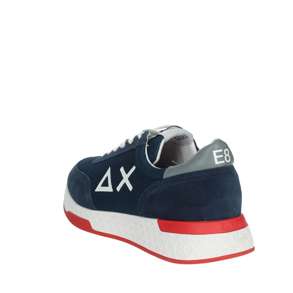 Sun68 Shoes Sneakers Blue Z19112