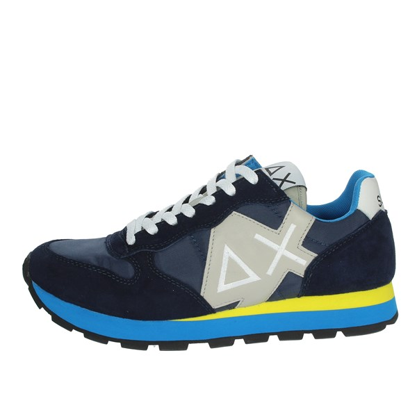 Sun68 Shoes Sneakers Blue/Yellow Z19103