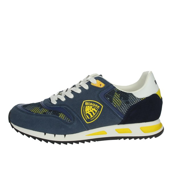 Blauer Shoes Sneakers Blue/Yellow MEMPHIS06