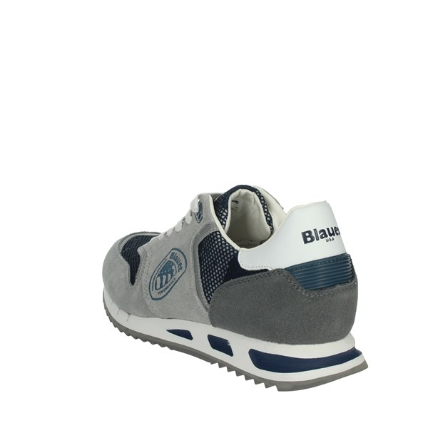 Blauer Shoes Sneakers Grey/Blue MEMPHIS06