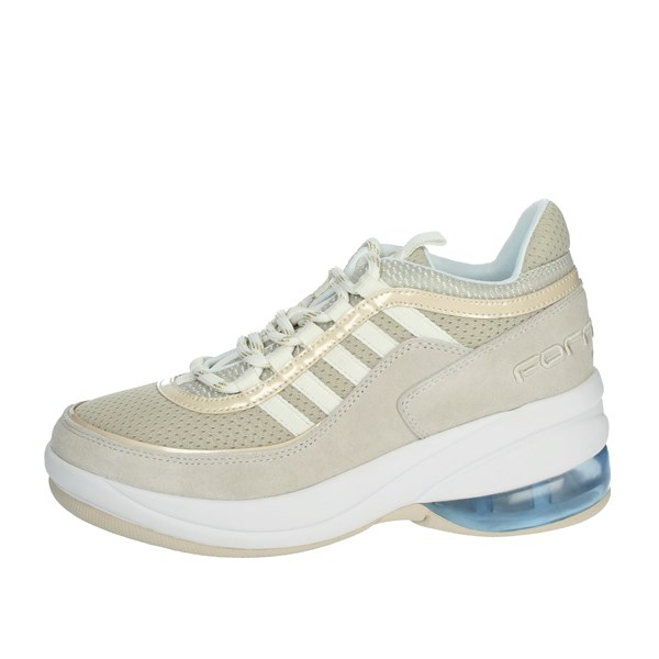 Fornarina Shoes Sneakers Beige PE19UP