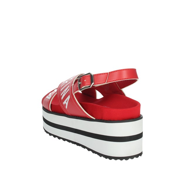 Fornarina Shoes Sandals Red PE19CREAM2