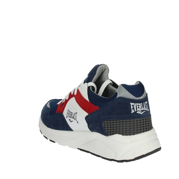 <Everlast Shoes Sneakers Blue/Red BK700