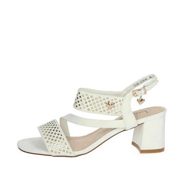 Braccialini Shoes Sandals Creamy-white TA308