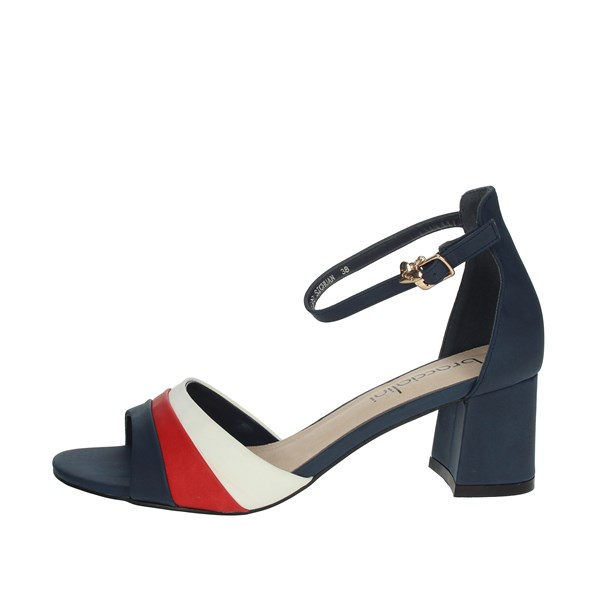 Braccialini Shoes Sandals Blue/Red TA309