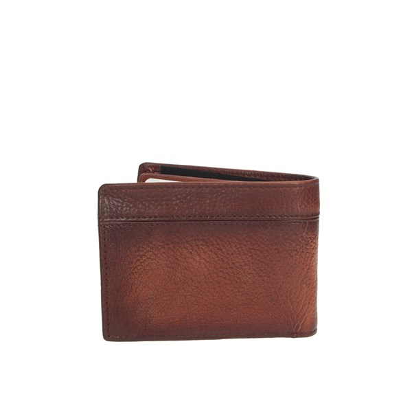 Blauer Accessories Wallets Brown leather BLPU00471M