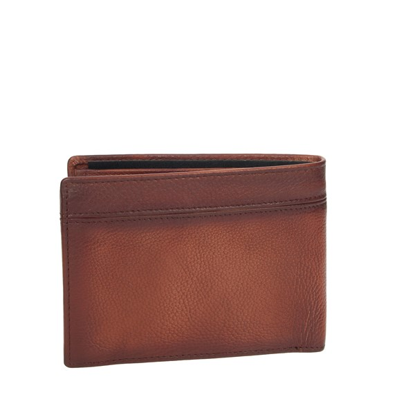 Blauer Accessories Wallets Brown leather BLPU00468M