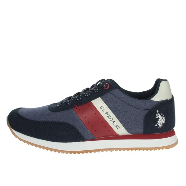 U.s. Polo Assn Shoes Sneakers Blue NOBIL4153S9/TH1