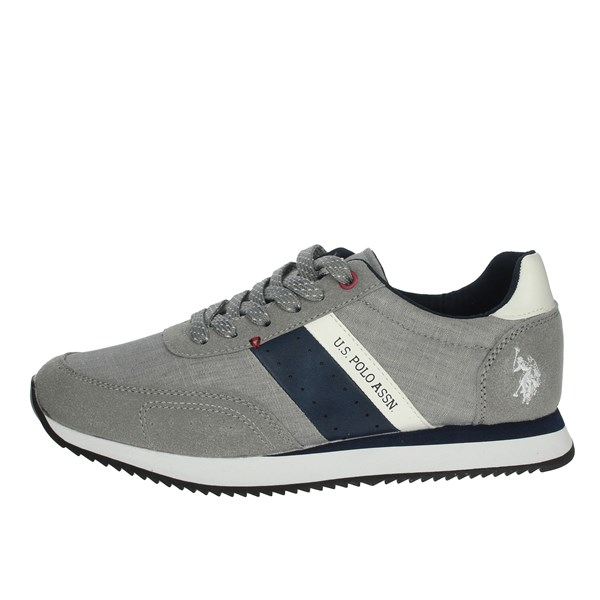 U.s. Polo Assn Shoes Sneakers Grey NOBIL4153S9/TH1