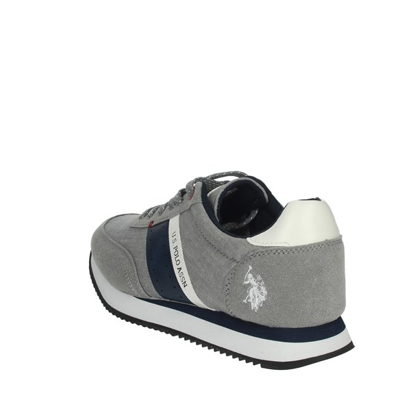 <U.s. Polo Assn Shoes Sneakers Grey NOBIL4153S9/TH1