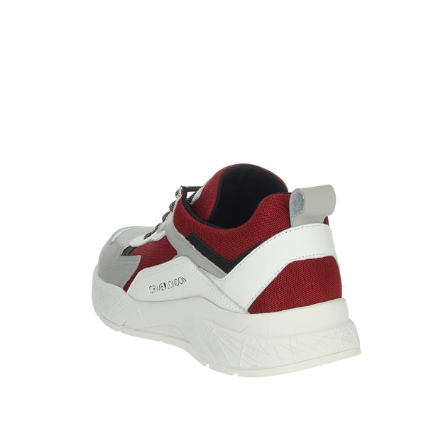 Crime London  Shoes Sneakers Grey/Red 11527PP1.71