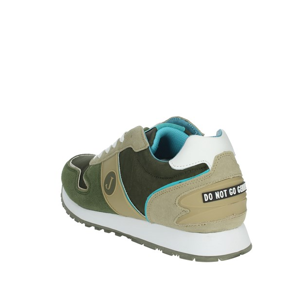 Jeckerson Shoes Sneakers Dark Green JGPU041