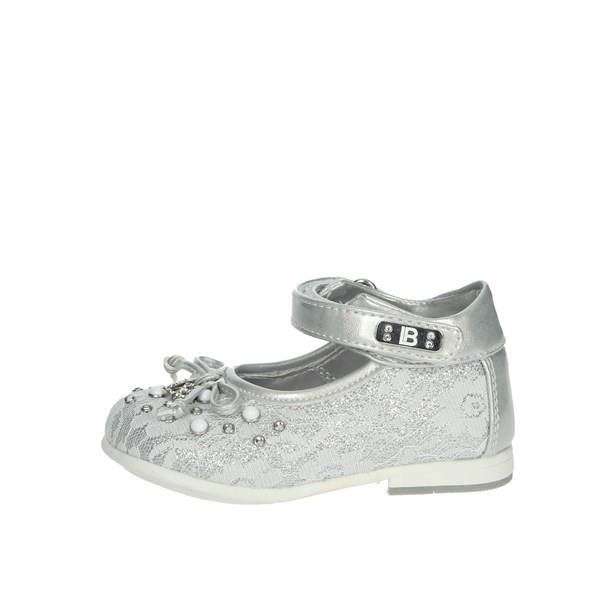 Laura Biagiotti Dolls Shoes Ballet Flats Silver 5270
