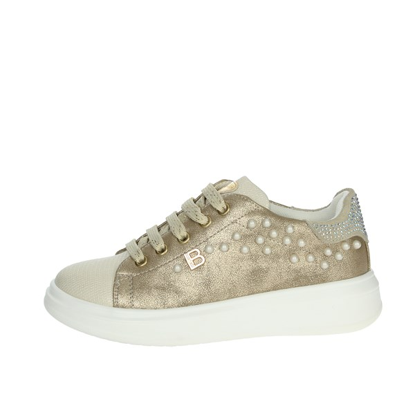 Laura Biagiotti Dolls Shoes Sneakers Platinum  5090