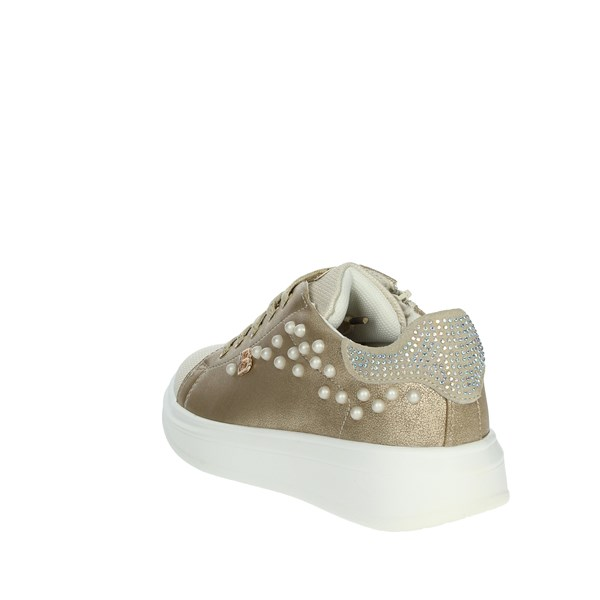 <Laura Biagiotti Dolls Shoes Sneakers Platinum  5090