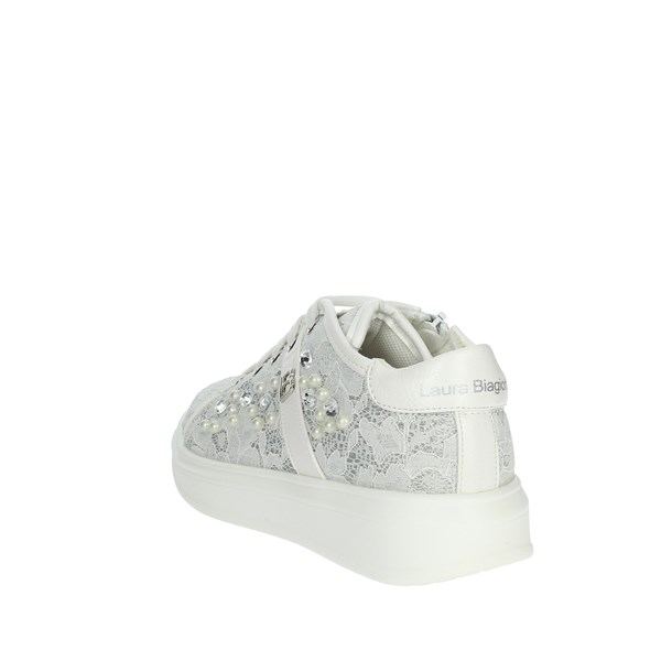 <Laura Biagiotti Dolls Shoes Sneakers White 5093