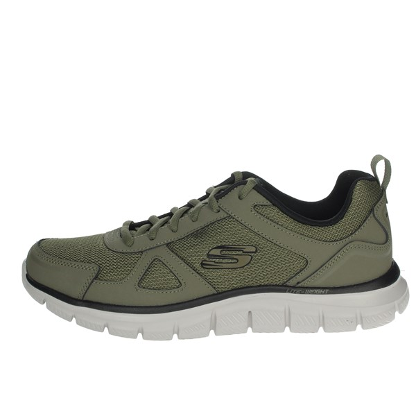 Skechers Shoes Sneakers Dark Green 52631/OLBK