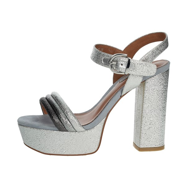 Luciano Barachini Shoes Sandal Silver CC212B
