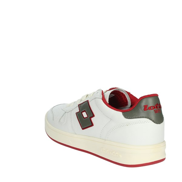 Lotto Leggenda Shoes Sneakers White/Red 211140