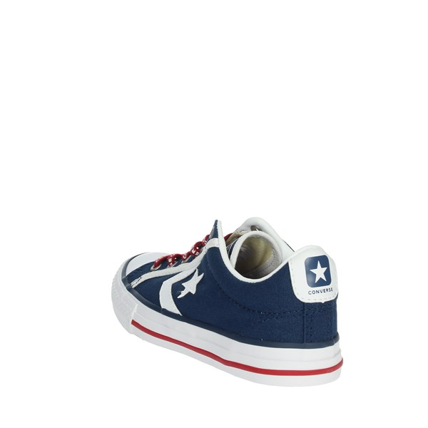 Converse Shoes Sneakers Blue/White 663989C