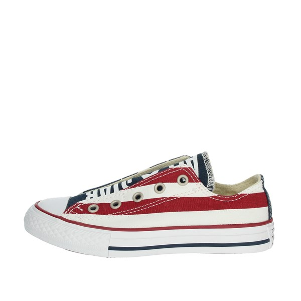 Converse Shoes Sneakers Blue/Red 660992C