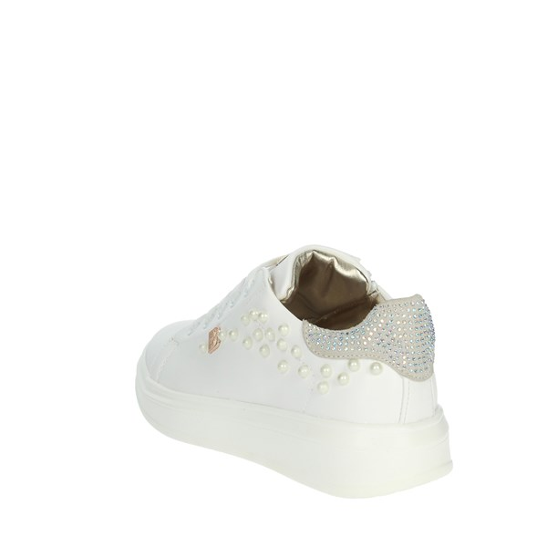 <Laura Biagiotti Dolls Shoes Sneakers White 5090