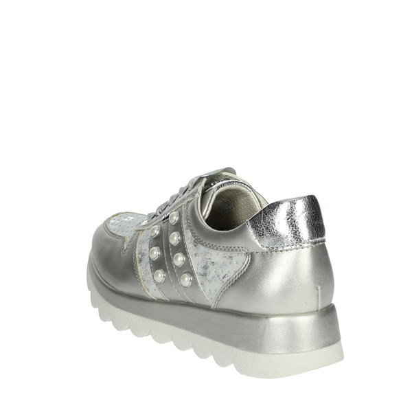 <Valleverde Scarpe Donna Sneakers ARGENTO 17313