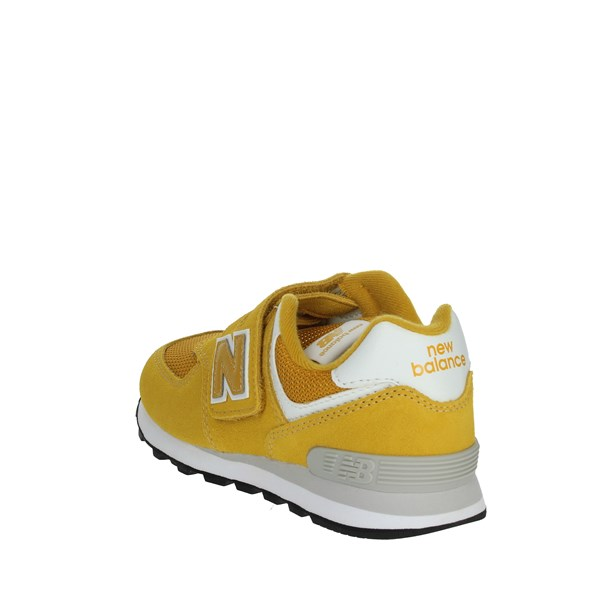 <New Balance Shoes Sneakers Yellow YV574EF