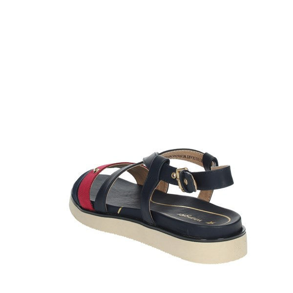 Wrangler Shoes Sandals Blue/Red WL91614A