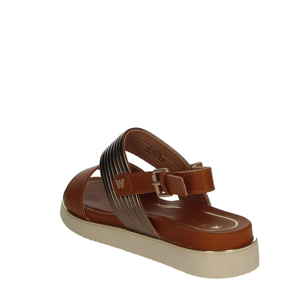 Wrangler Shoes Sandals Brown leather WL91650A