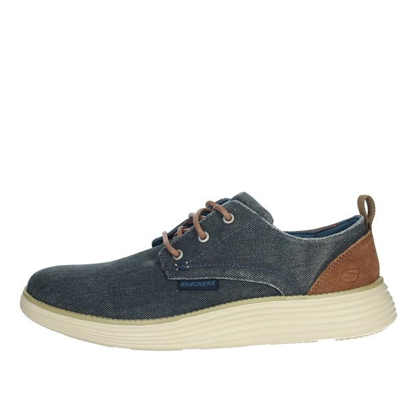 Skechers Shoes Laced Blue 65910/NVY