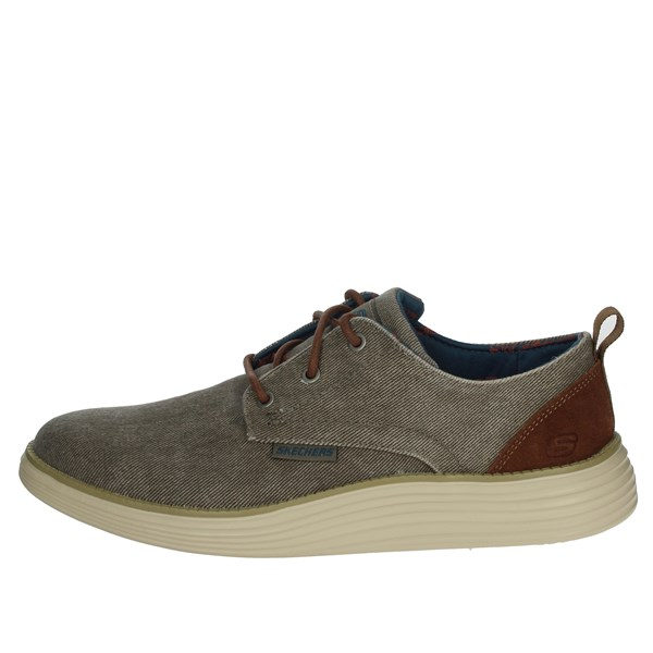 Skechers Shoes Laced Brown Taupe 65910/TPE