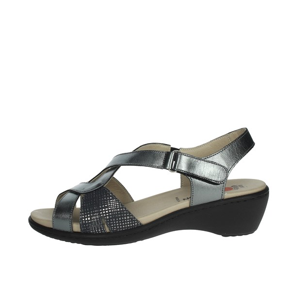 Notton Shoes Sandals Charcoal grey 3815