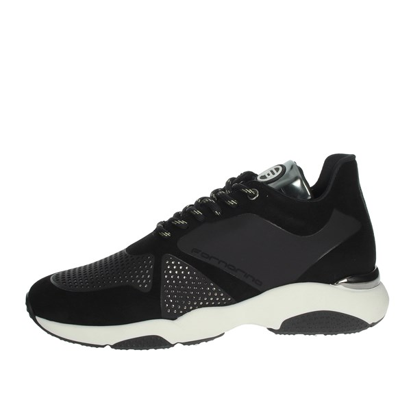 Fornarina Shoes Sneakers Black PE19MOON