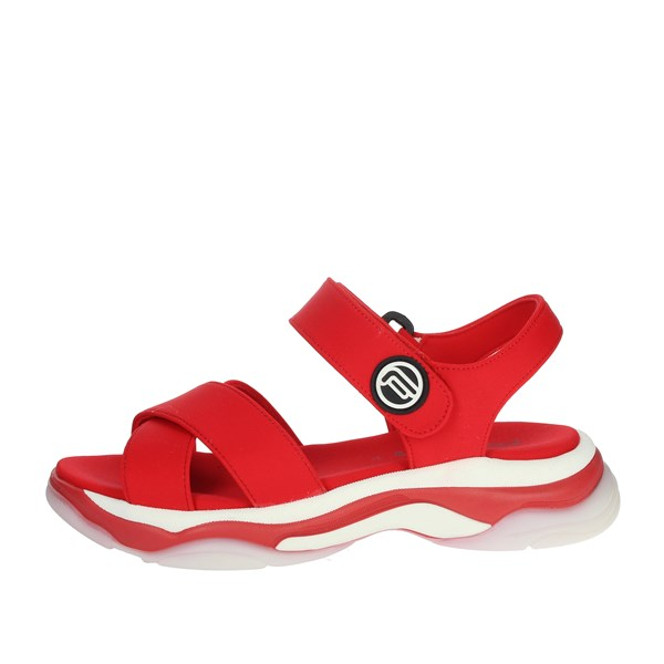 Fornarina Shoes Sandals Red DPE18SUPER20