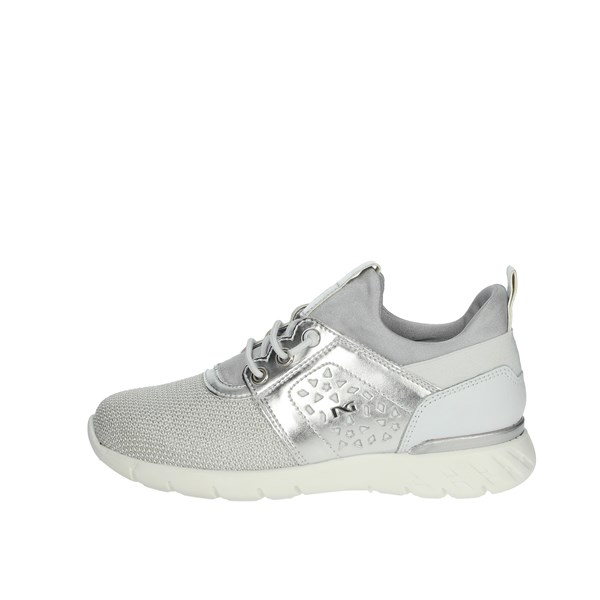 Nero Giardini Shoes Sneakers Silver P931041F